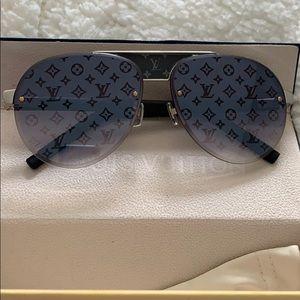 Louis Vuitton monogram lenses sunglasses